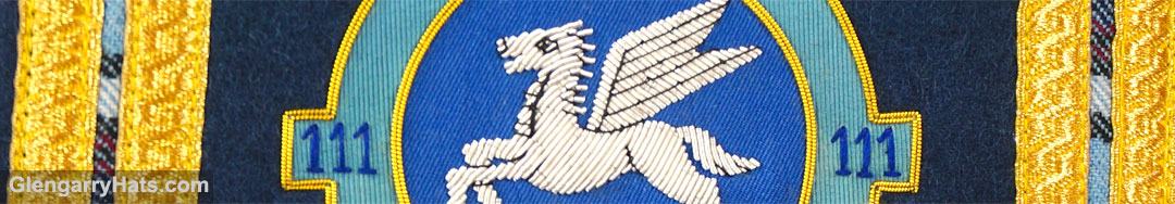 GlengarryHats.com 111 Pegasus Hand Embroidered Drum Major Sash