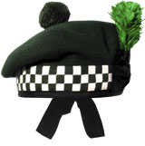 "Diced ""Special Forces Green"" Balmoral Hat"