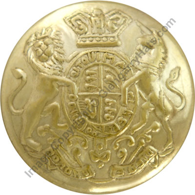 United Kingdom / British Commonwealth Queen Victoria Crown Military Uniform General Service Buttons