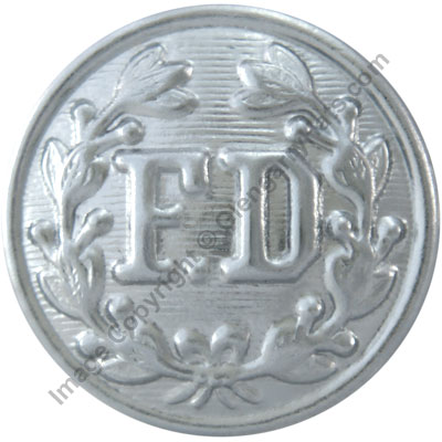 Fire Department Uniform Button