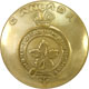 Brass Canada General Service Button Large