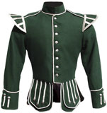 Green Highland Piper Doublet