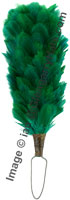 dark green hackle