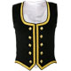 Black Velvet Highland Dance Vest