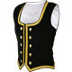 Black Velvet Highland Dancing Vest