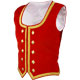 Red Velvet Highland Dancing Vest
