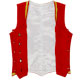 SOBHD Red Velvet Highland Dancing Vest