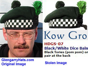 GlengarryHats.com copyrighted image unauthorized used by Pakistan vendor