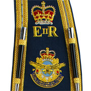 GlengarryHats.com Embroidered Pipe Banners and Drum Major Sashes